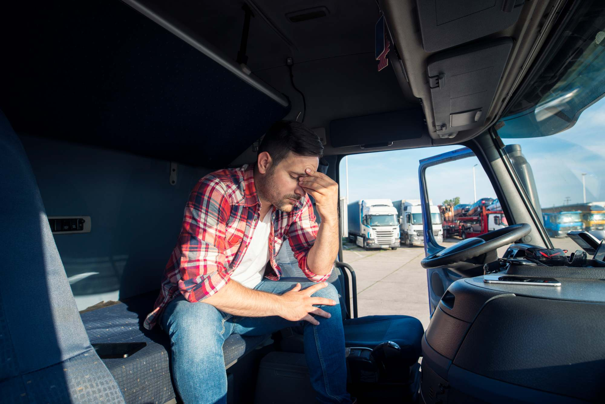 Pérdida auditiva entre camioneros
